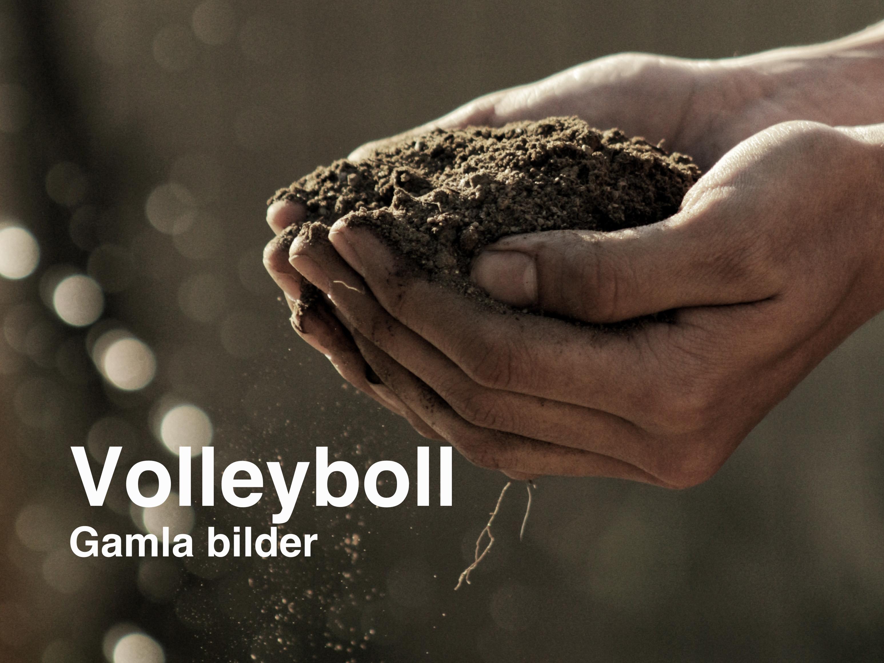 Gamla bilder Volleyboll